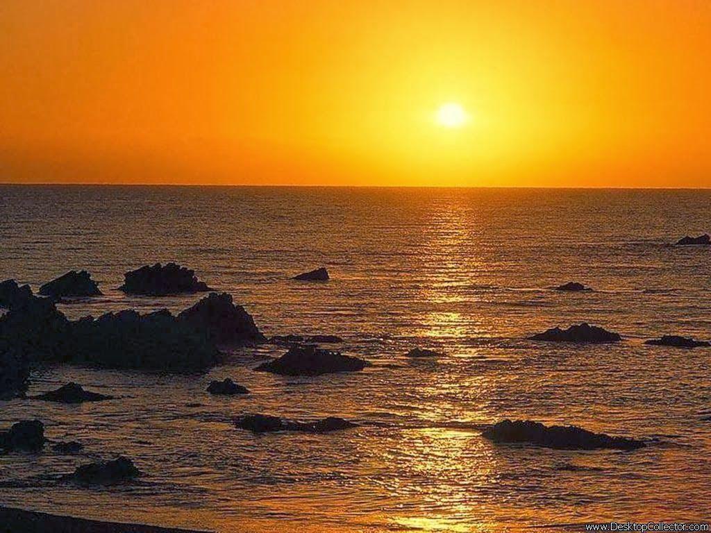اجمل لحظات غروب الشمس حول العالم Sunset Seascape Sunrise