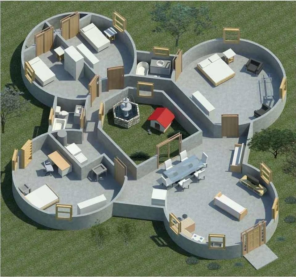 Styrodome House Plans