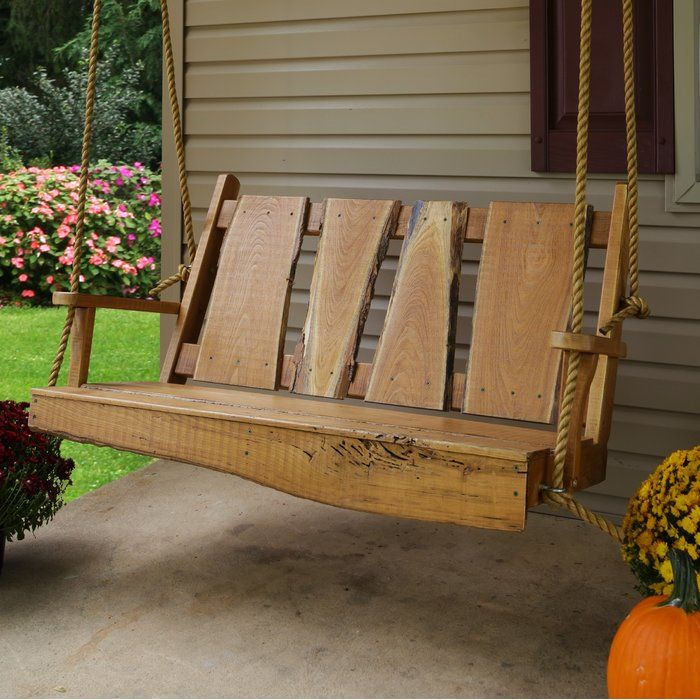Wandy Rustic Porch Swing #rusticporchideas