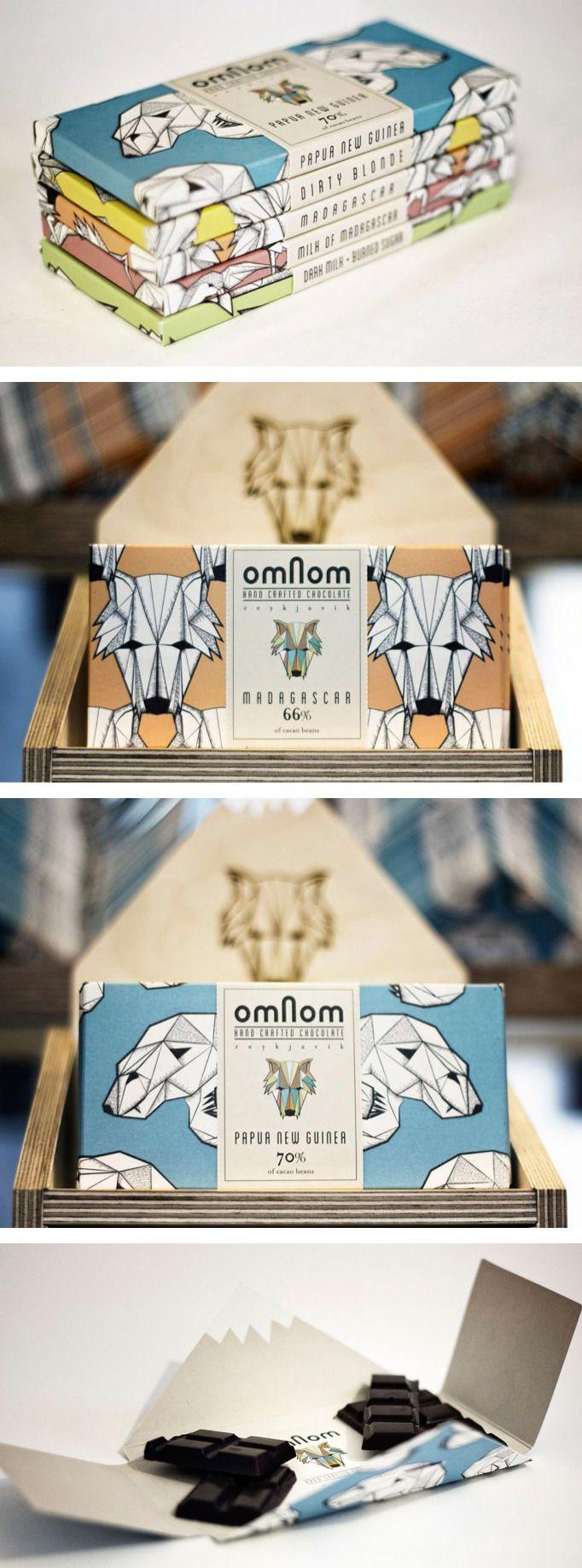 Omnom Handmade Chocolate | Packaging | Packaging design