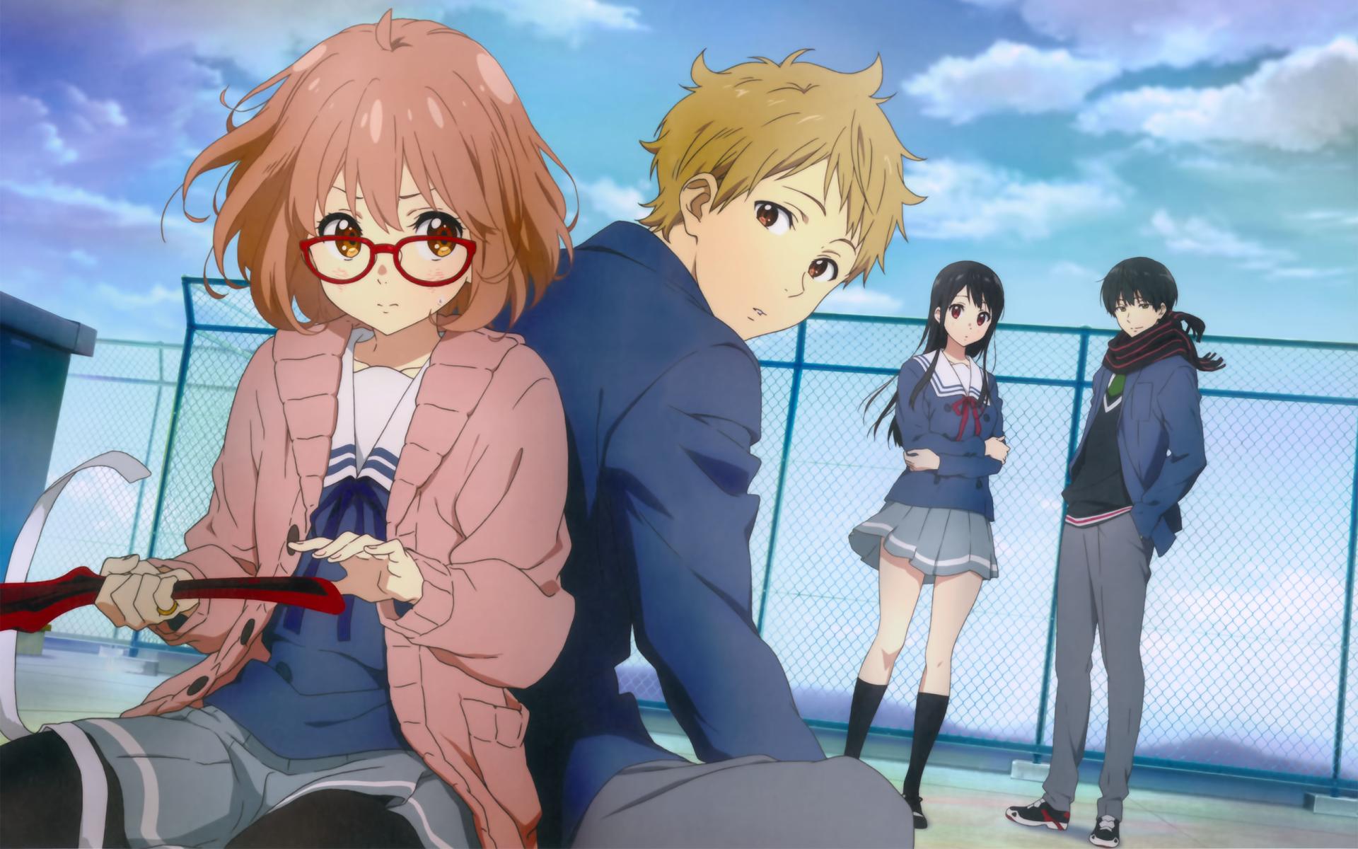 Anime Beyond The Boundary Mirai Kuriyama Akihito Kanbara