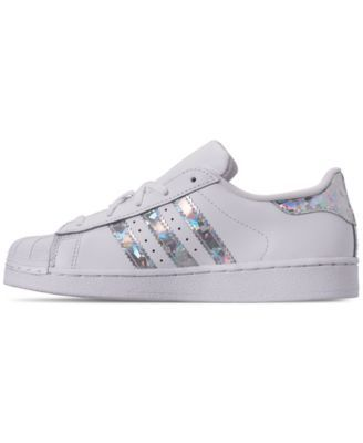 adidas Toddler Girls' Superstar Casual Sneakers from Finish