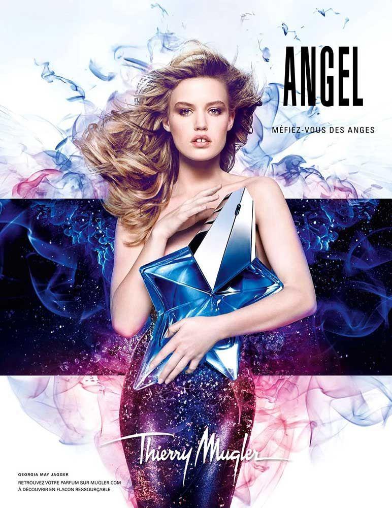 Publicite Du Parfum Angel Perfumeangel With Images Angel