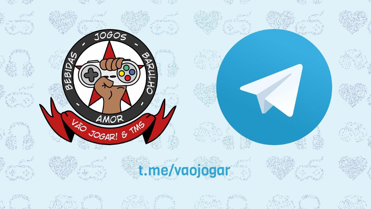 O Vão Jogar! agora possuí um canal no Telegram, para que você possa acompanhar todas as novidades do site em qualquer lugar.  #Telegram #VaoJogar #VideoGames #Games #InstaGames
