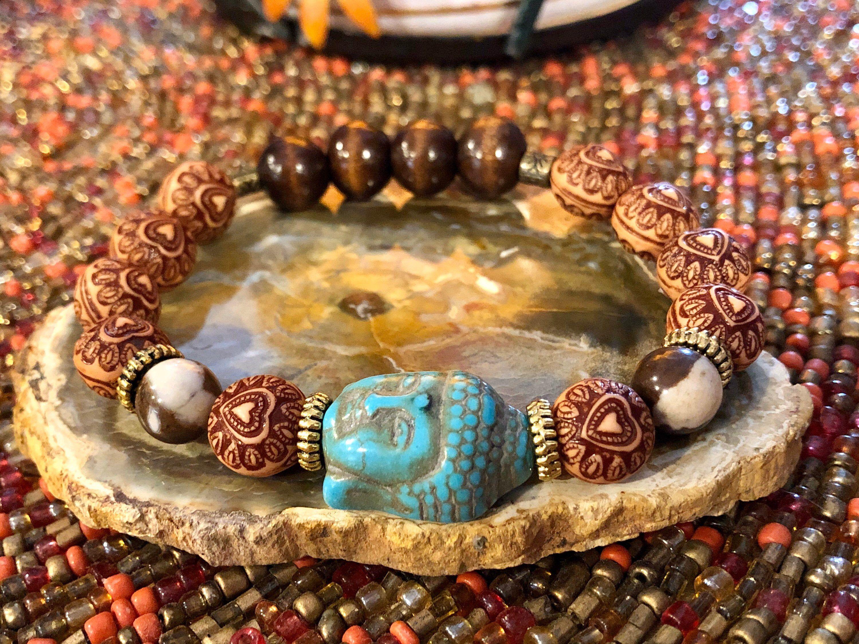 Buddha Bracelet Womens Bracelets Hamsa Bracelet Womens Bracelets Leather Yoga Bracelet Charm Bracelet Leather Bracelets for Women