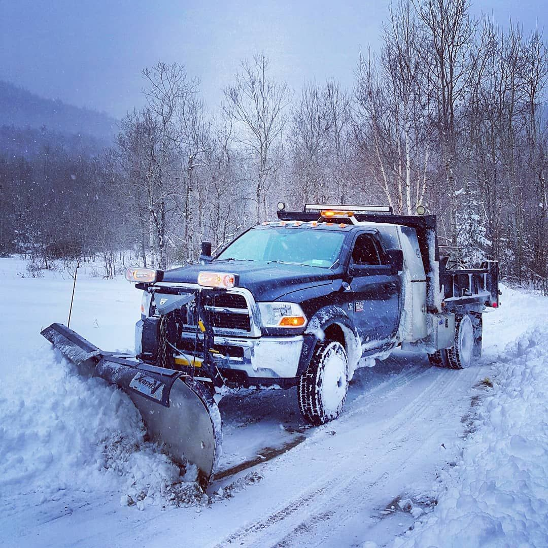 Landscaping Jobs Near Me Custom truck beds, Plow truck