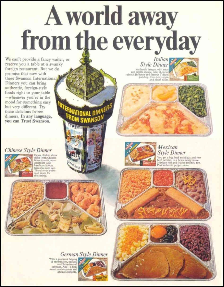 Reagan's Unsung Legacy Frozen Food Day Food humor