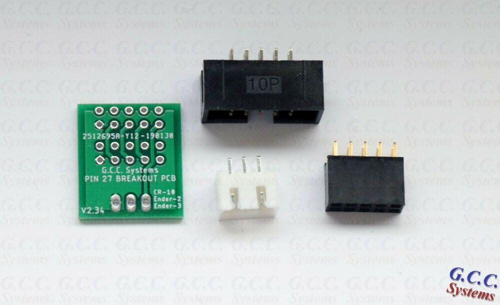 Pin 27 Breakout Board For Creality Ender Cr 10 Bltouch Filament Sensor Diy Kit Ebay Diy Kits Breakout Board Breakouts