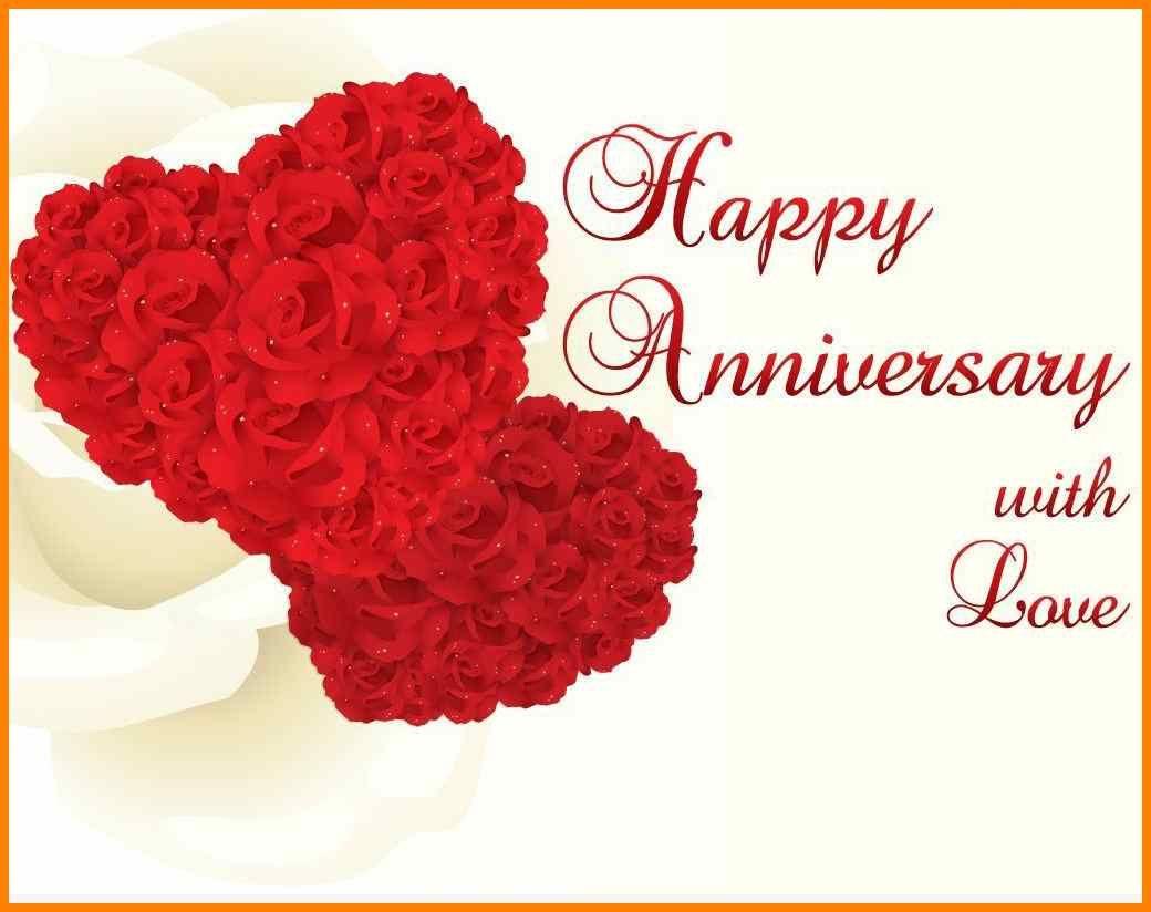 8 Happy Anniversary Templates Free Happy Wedding Anniversary