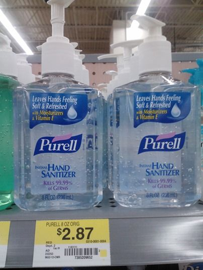 Purell Hand Sanitizer Just 2 12 At Walmart Http Www
