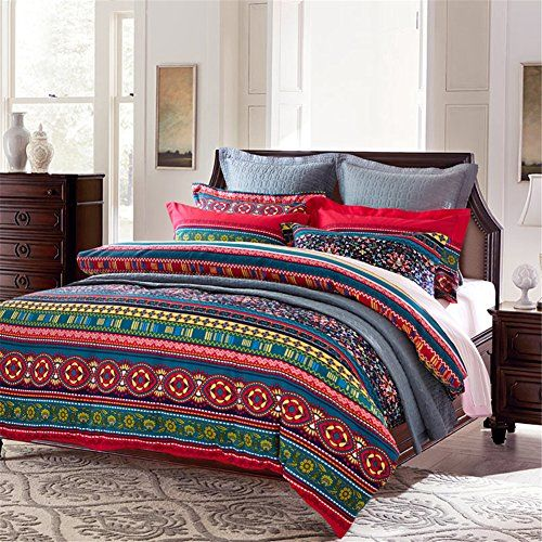 queen size ideas set moroccan to bedding funda duvet cotton intended furniture style in pertaining for house boho bohemian ethnic wholesale nordica cover bedclothes comforter