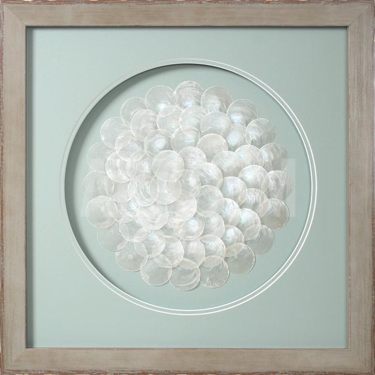 Blooming capiz shells dimensional product at
