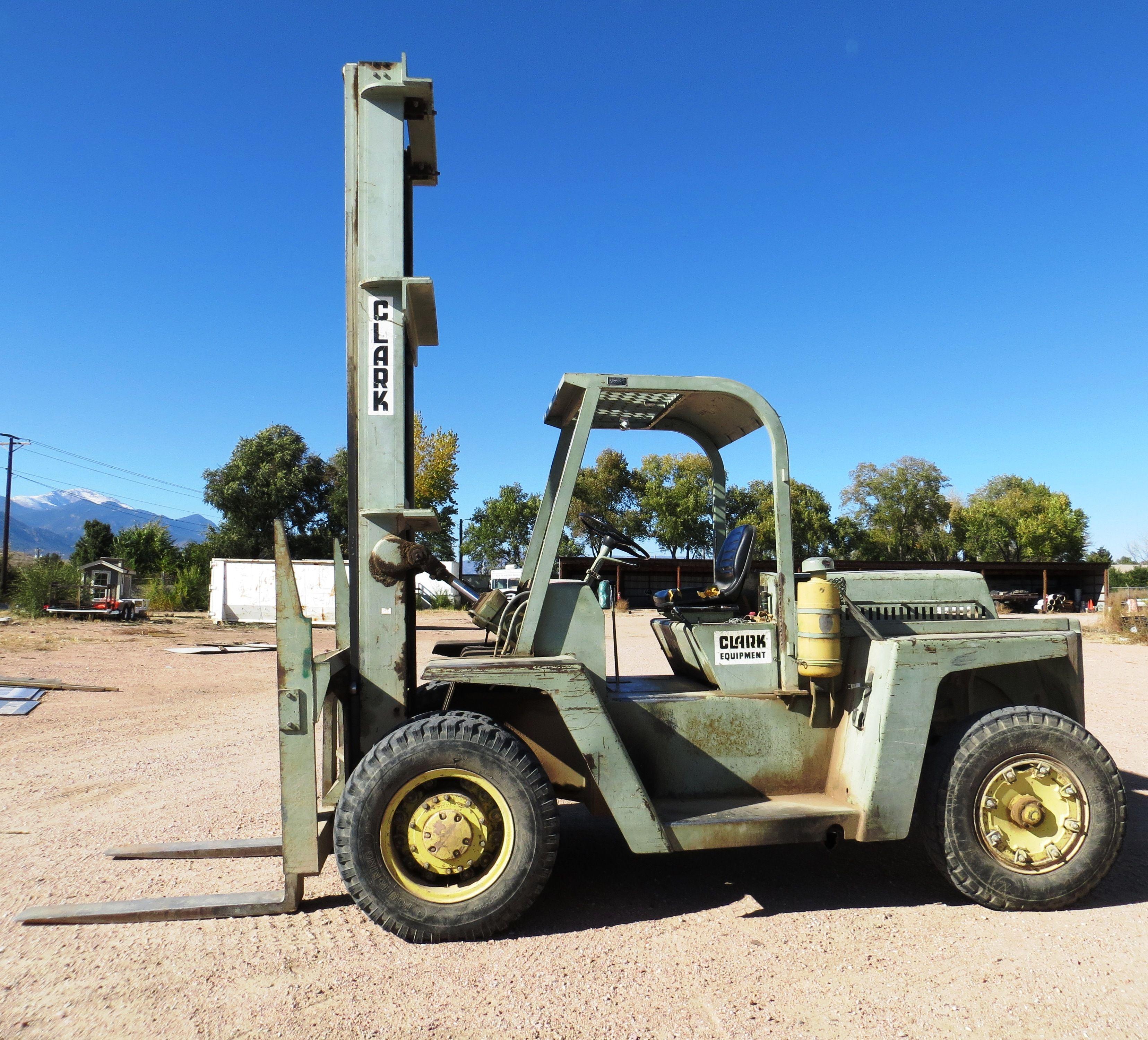 1968 Clark HD Type G Forklift Mod: CHY1560B 3212 hrs