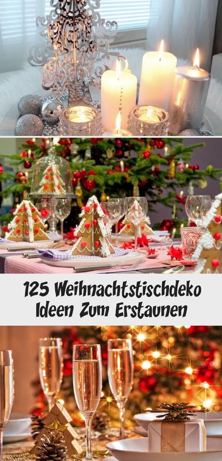 125 Weihnachtstischdeko Ideen Zum Erstaunen - Pinokyo in