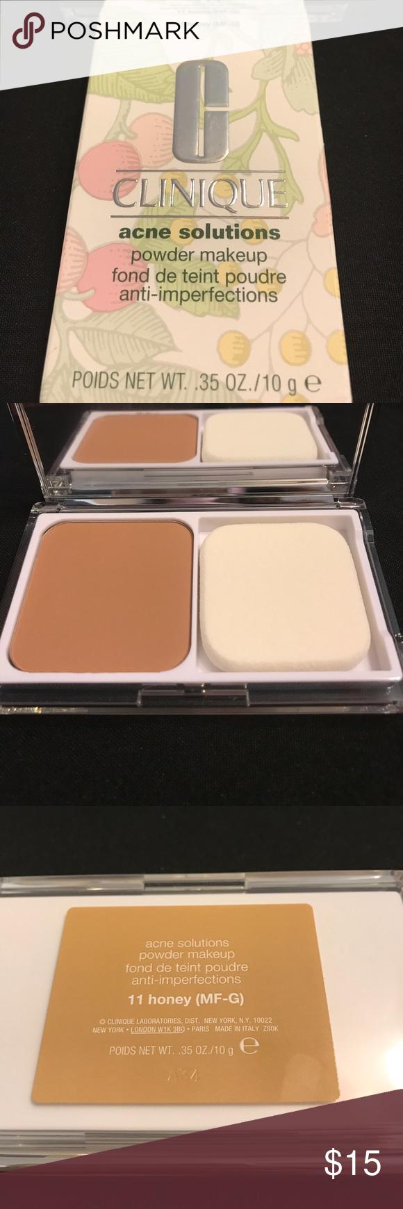Clinique 11 Acne Solutions Powder. New Honey MFG Clinique