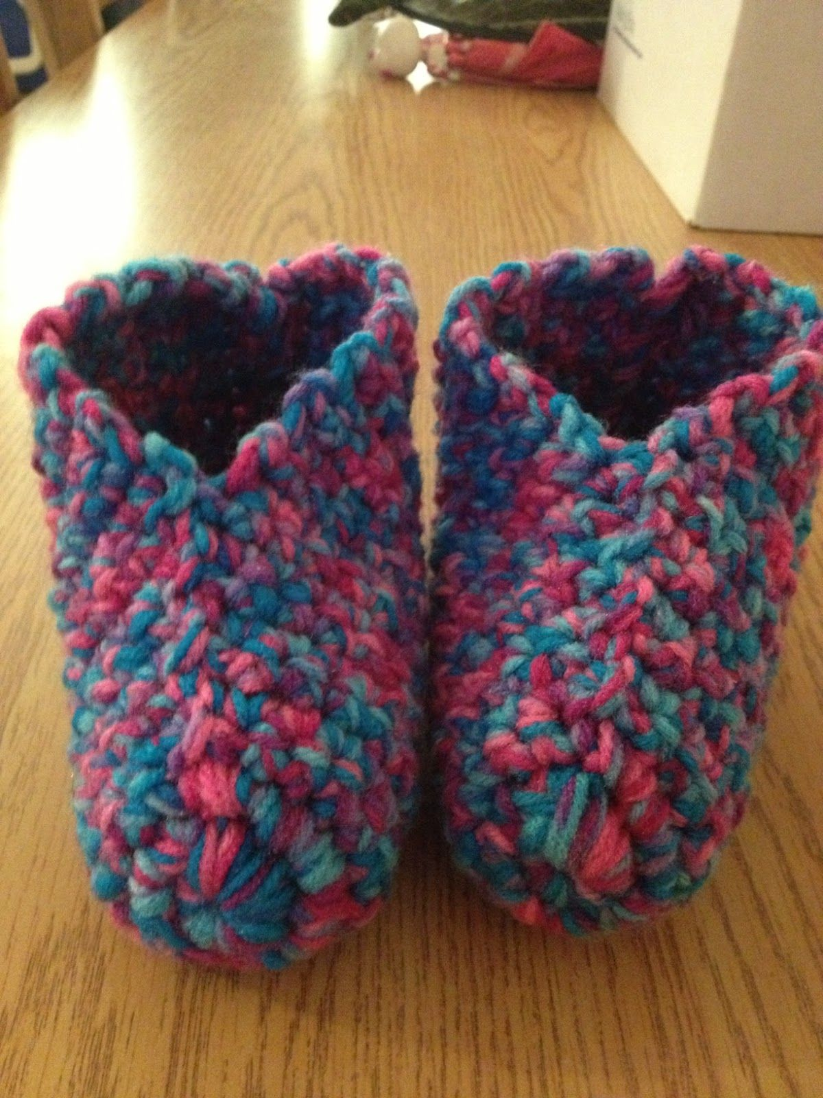 Hooking is a Lifestyle : Crochet Slippers