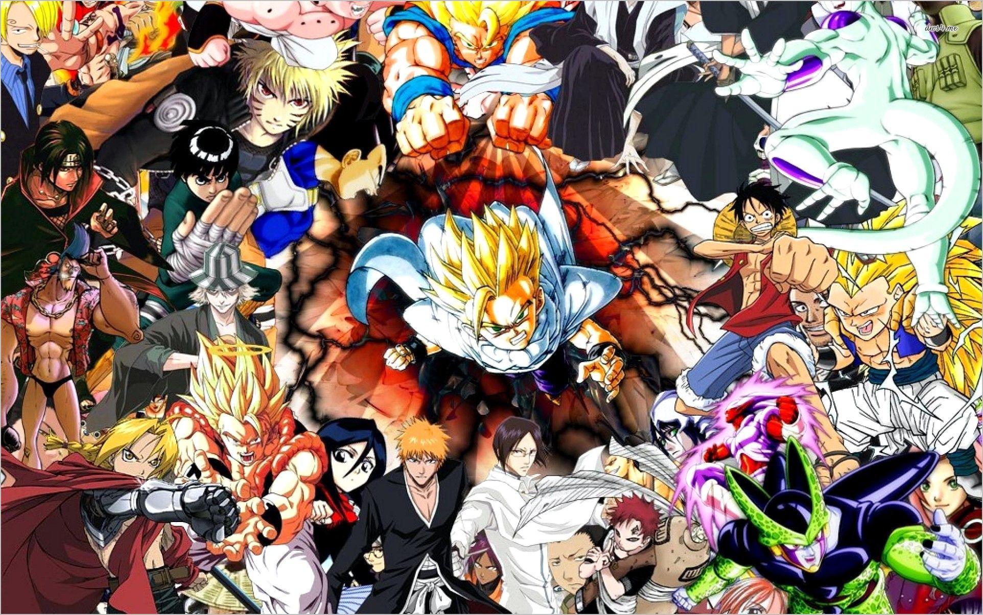 Anime Shonen Wallpaper 4k In 2020 Anime Character Wallpaper