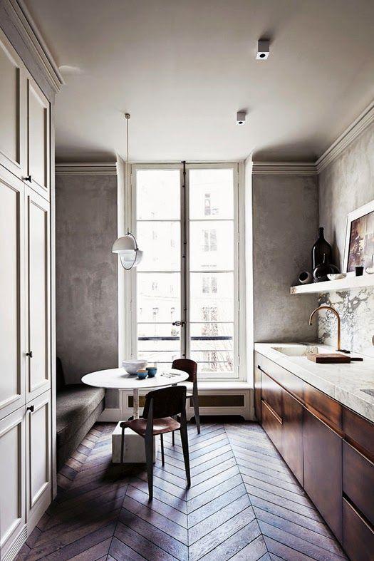 herringbone floors m nchen k che pinterest m nchen und k che. Black Bedroom Furniture Sets. Home Design Ideas