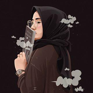 C U B E Y Putracubey Foto Dan Video Instagram Girls Cartoon Art Hijab Cartoon Digital Art Girl