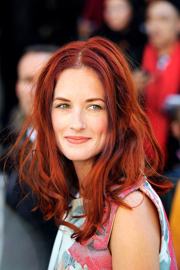 Her golden globes redhead can suggest