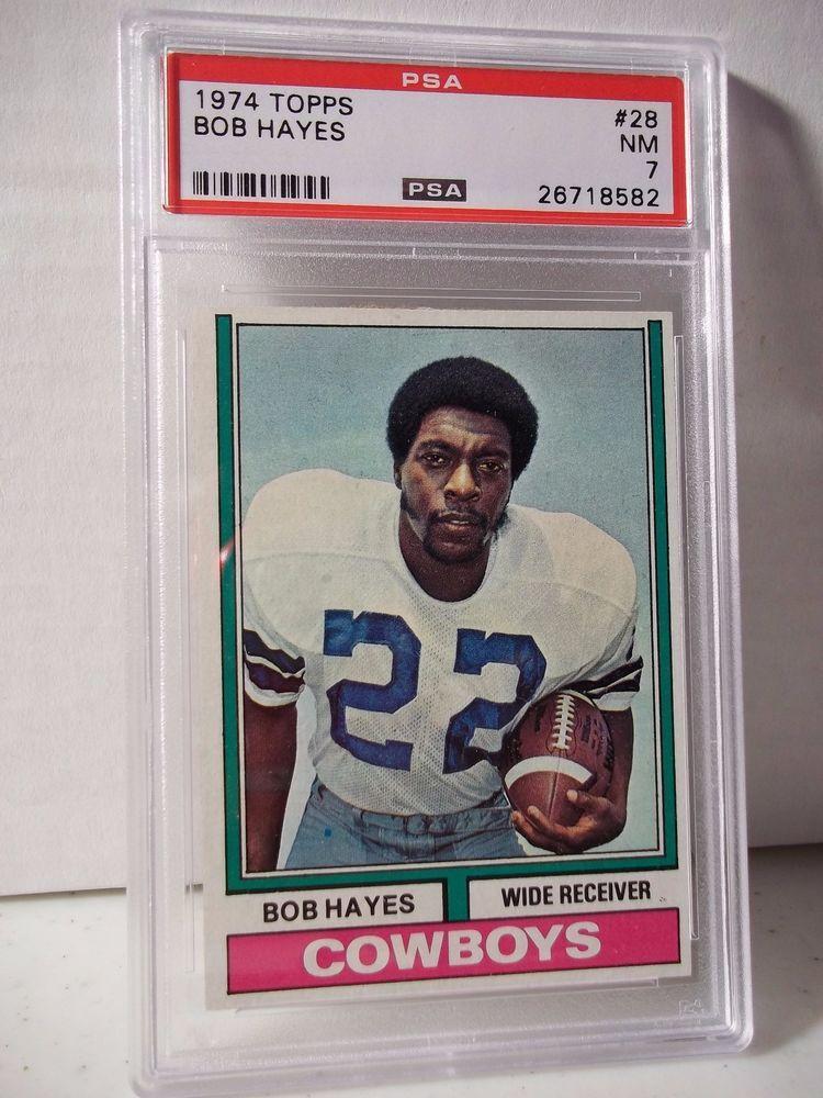 Verzamelkaarten: sport Amerikaans voetbal 1974 Topps #28 Bob Hayes Dallas Cowboys Football Card