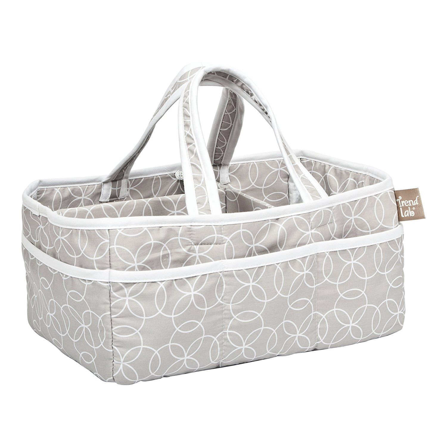 Trend Lab Circles Gray Storage Caddy ** You can find out more ...