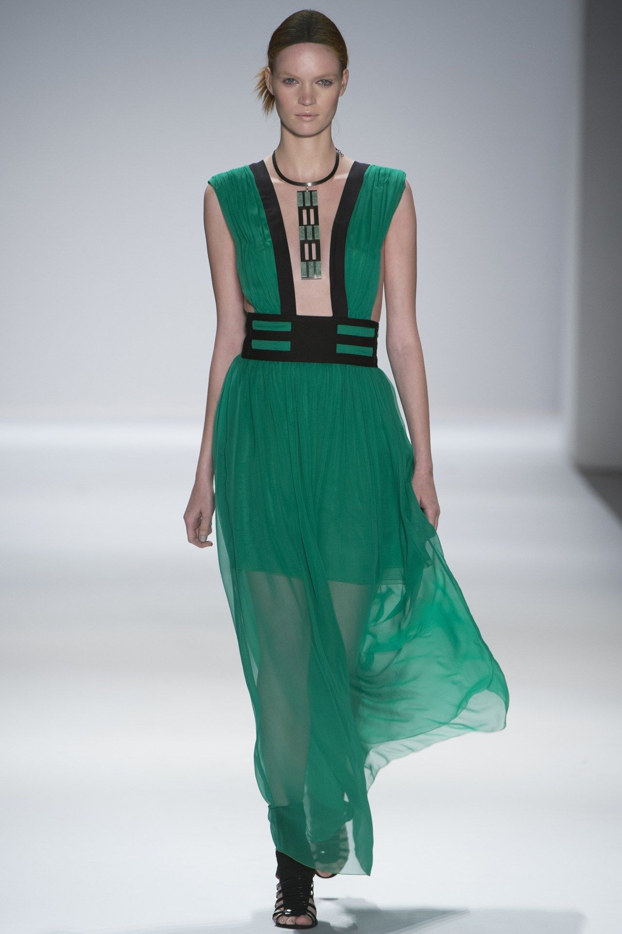 Vivienne tam evening dress