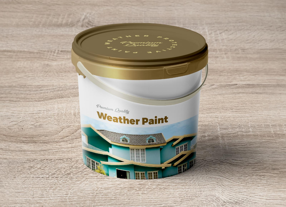 Free 1 Gallon Plastic Paint Bucket Mockup Psd Good Mockups Paint Buckets Mockup Mockup Psd
