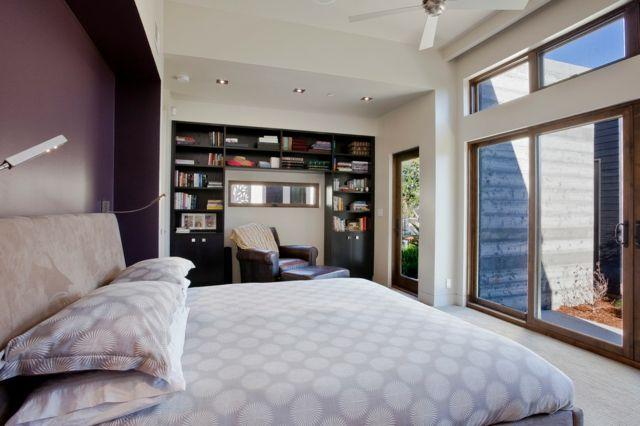Farbgestaltung für Schlafzimmer – das geheimnisvolle Lila ...
