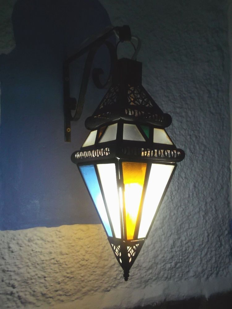 Moroccan wall sconces from MARRAKECH 15 cm x 34 cm #Moroccan ...