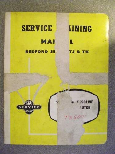 bedford tj tk engine clutch service manual 1961 ts1087503 rh pinterest co uk Bedford TK 1995 Bedford TJ
