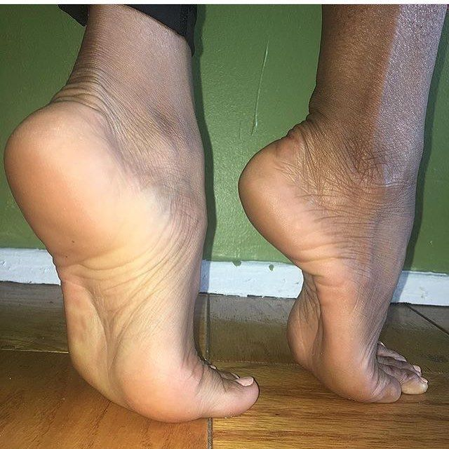 Ebony feet photos