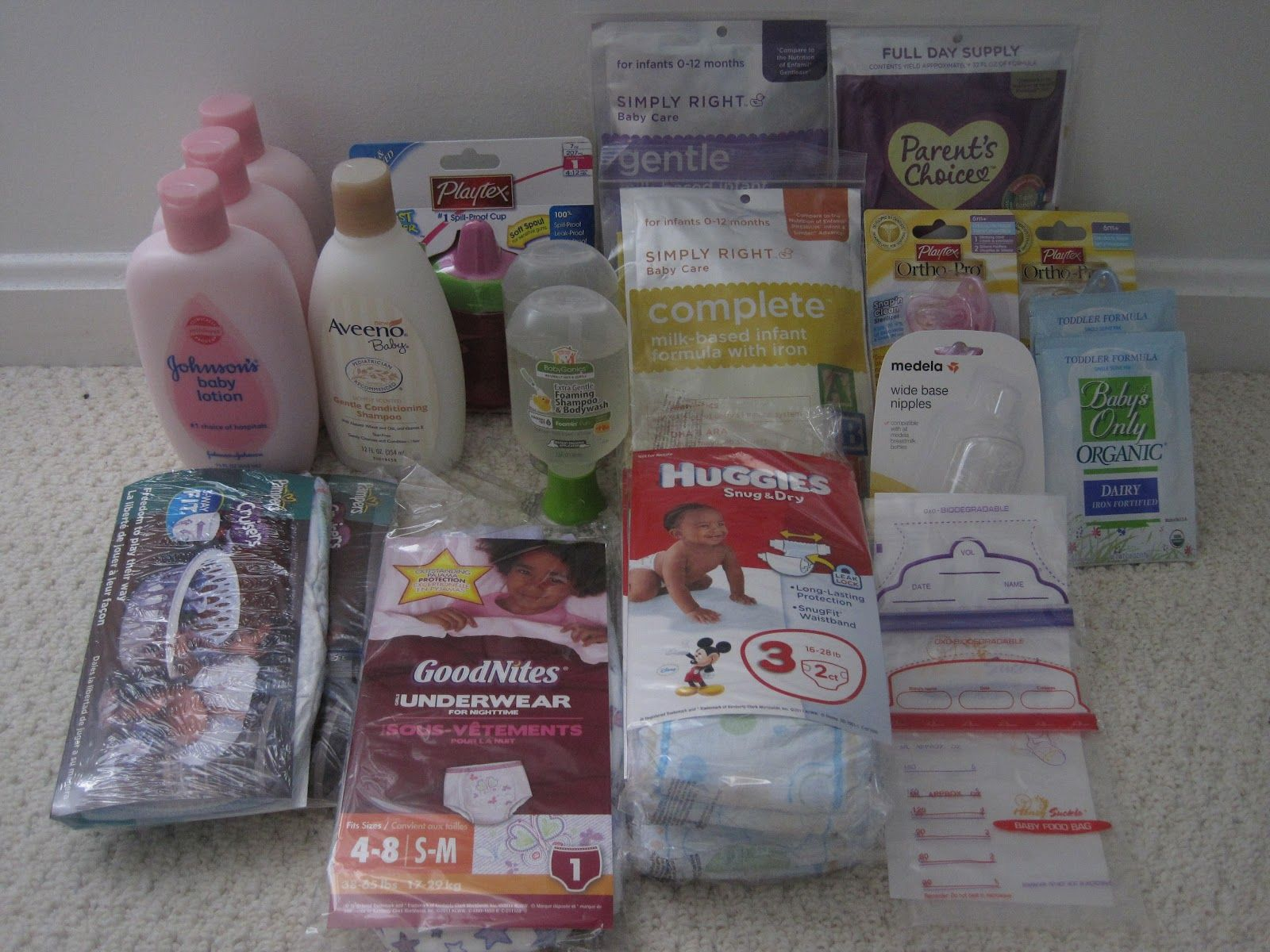 Baby Save A Lot: My Baby Stockpile free_baby_samples #babysamples ...