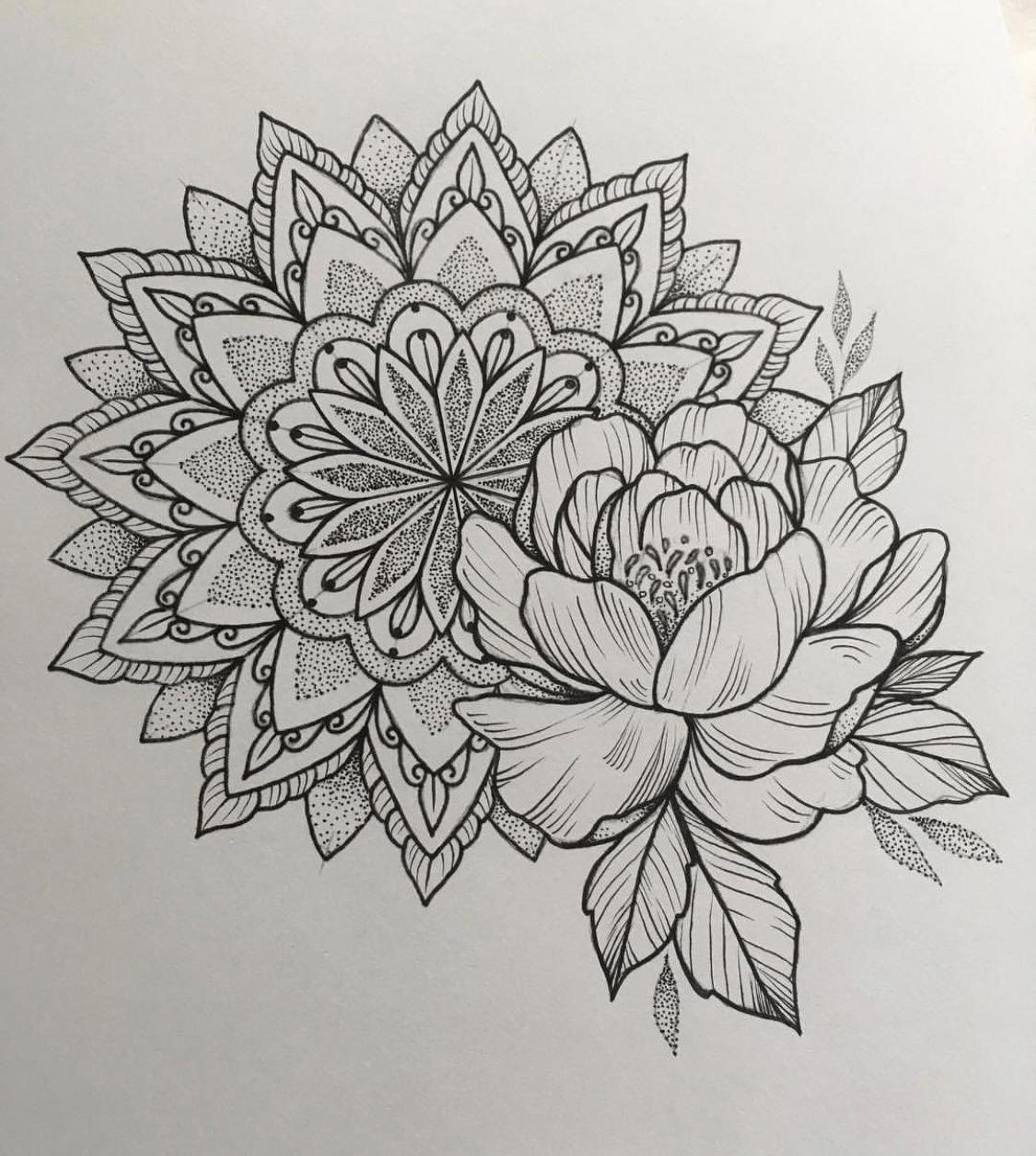 Mandalatattoo Wildflowertattoos Mandala Tattoo Shoulder Mandala Tattoo Sleeve Traditional Mandala Tattoo