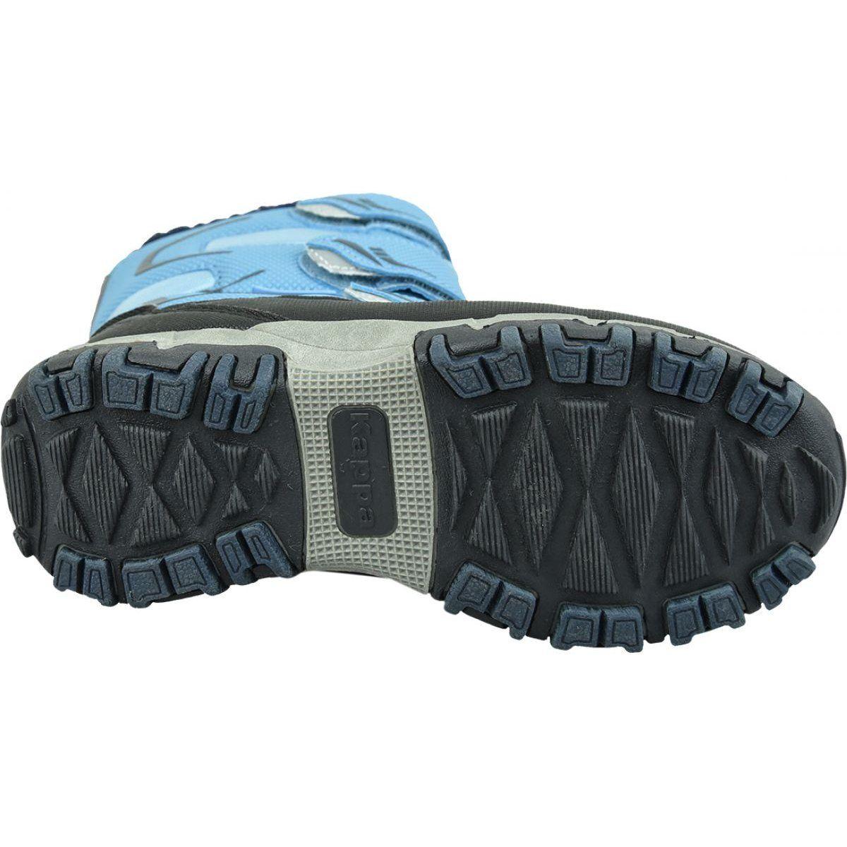 Buty Zimowe Kappa Great Tex Jr 260558k 6467 Niebieskie Winter Boots Kid Shoes Childrens Shoes