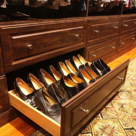 Men S Shoe Storage Drawers