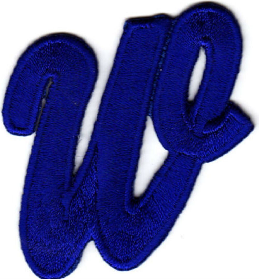 Bubble Gum Monogram/Letter Fabric Embroidered Iron On Patch MADE TO ORDER