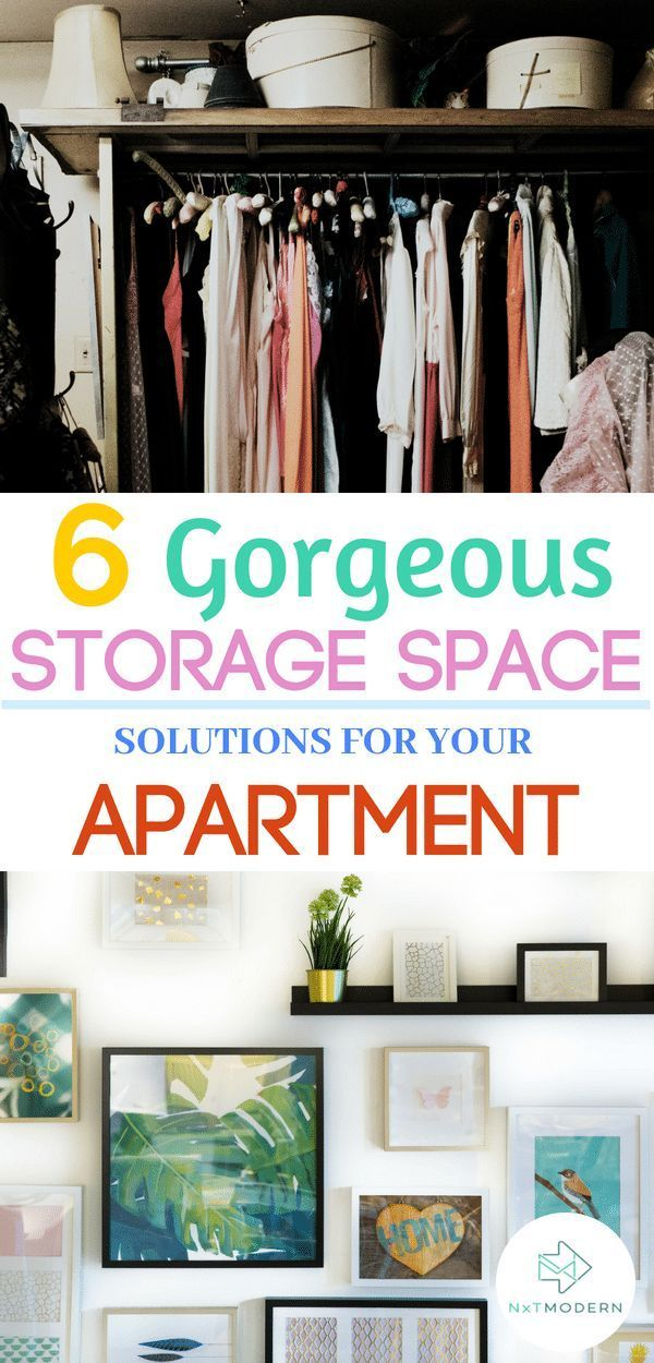 6 Best Ways To Free Up Storage Space In Your Apartment ...