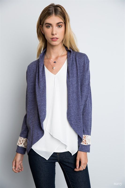 Lace Knit Cardigan
