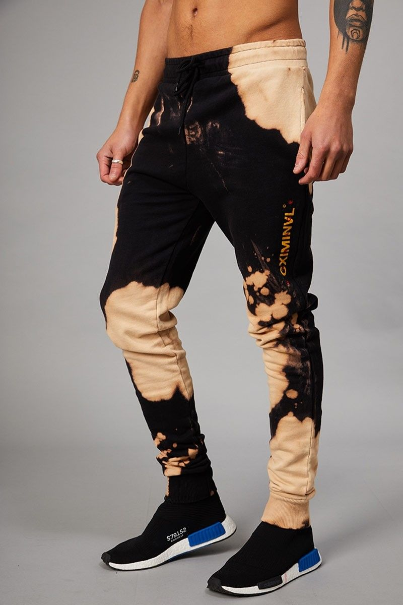 cf68a90a1b Bleach Joggers - Black Tan Moda