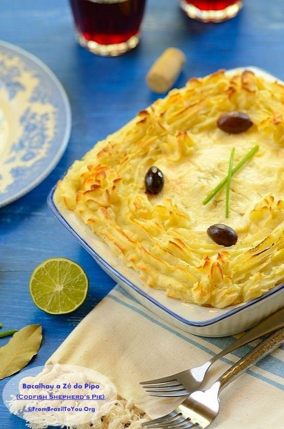 Bacalhau a Zé do Pipo (Codfish Shepherd's Pie)