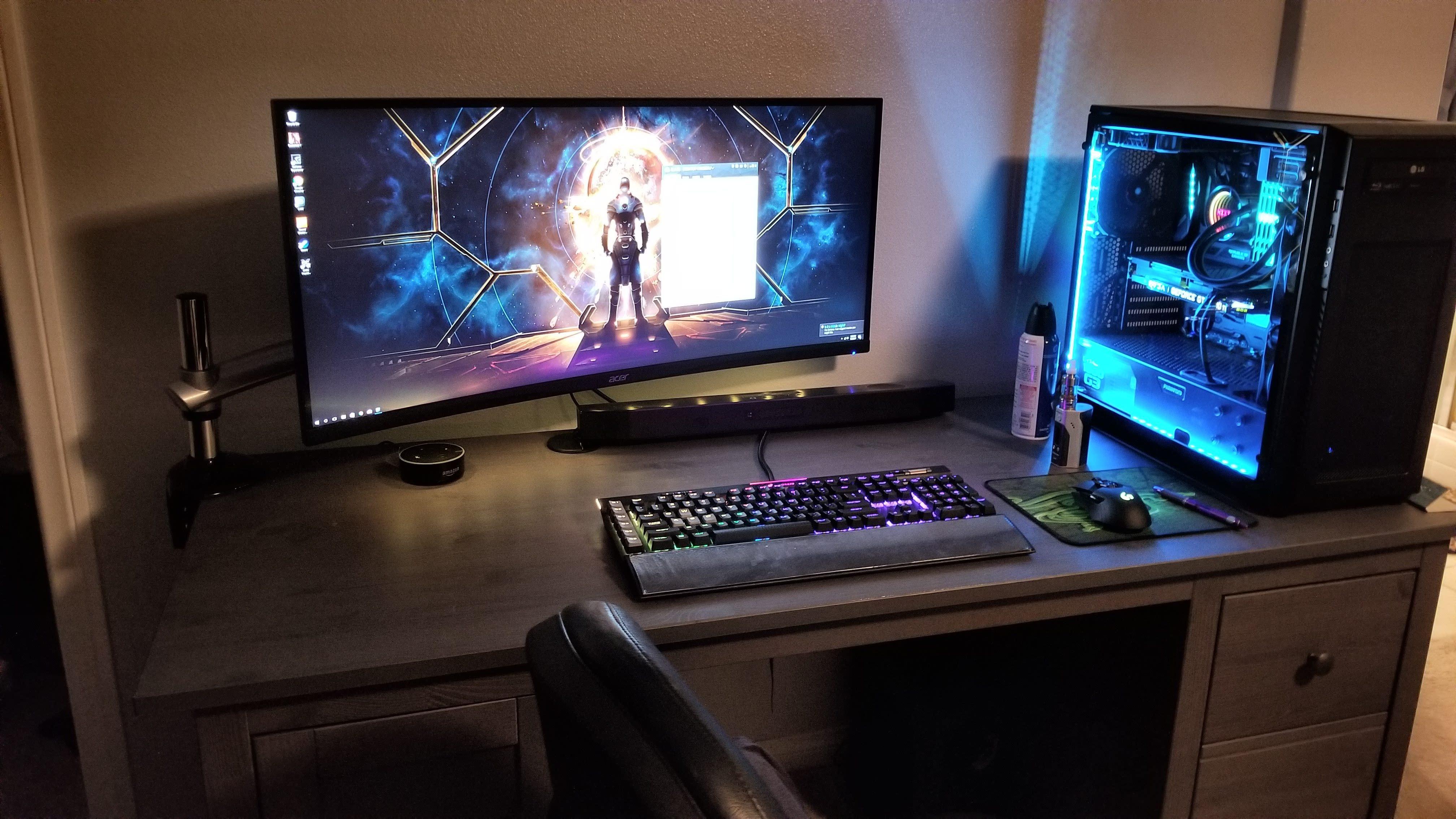 from a battletop setup to a battlestation setup gaming pinterest
