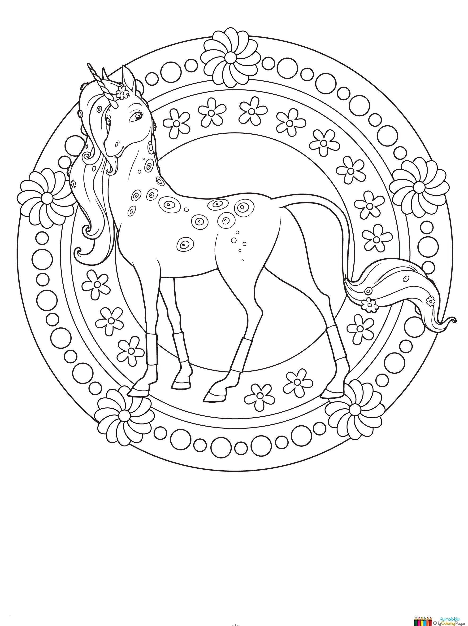 Neu Malvorlagen Von Tieren  Unicorn coloring pages, Horse