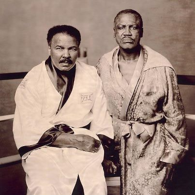 """I always bring out the best in men I fight, but Joe Frazier, I'll tell the world right now, brings out the best in me. I'm gonna tell ya, that's one helluva man, and God bless him."" (RIP Smokin' Joe)"