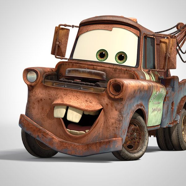 Mater Mater Mater is the rustiest, trustiest tow truck in Radiator Springs. He loves tractor tippin', helping out stranded cars, and most of all, hanging out with his best friend, Lightning McQueen. Mater is great at driving backwards, because he doesn't need to know where he's going as long as he knows where he's been.