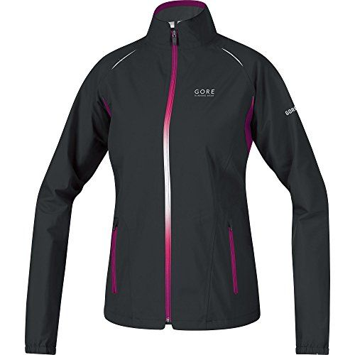 Gore Running Wear Womens Sunlight 20 GT Active Shell Lady Jacket BlackThai Pink Large >>> Click image for more details.(This is an Amazon affiliate link)