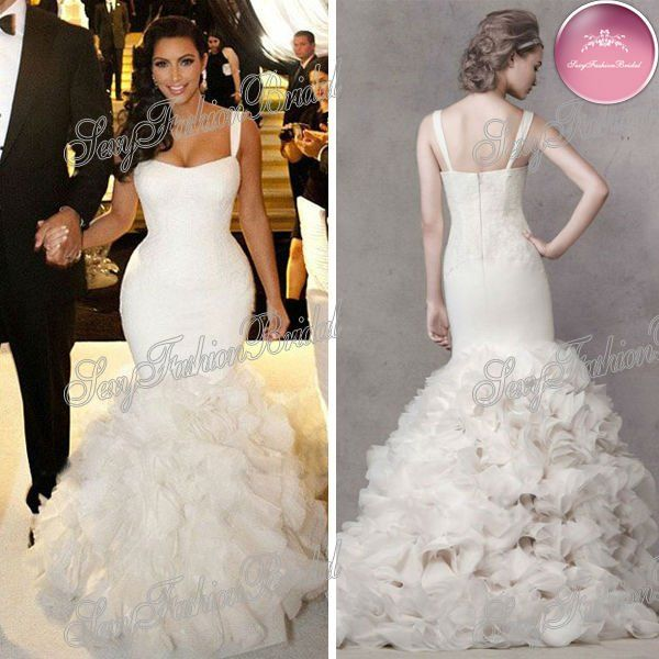 mermaid wedding dresses with ruffles and lace - Google Search ...