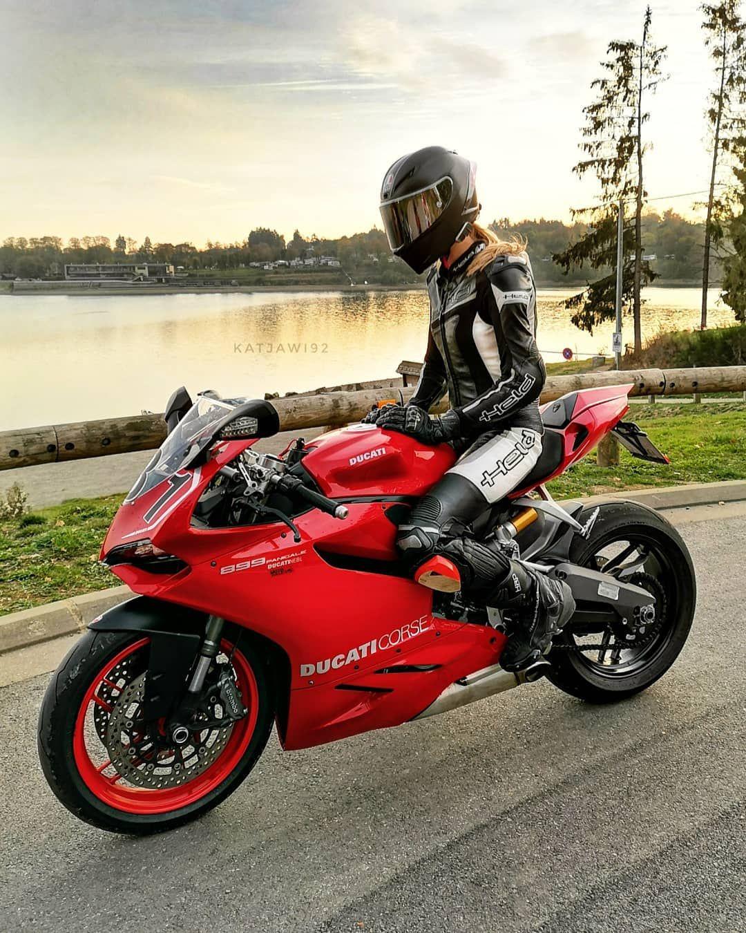 """@katjawi92 on Instagram: """"[Werbung] The beauty of Ducati ❤️ .  Einen der letzten schönen Tage der Saison 2018 an einem  traumhaft schönem Ort ausklingen lassen mit…"""""""
