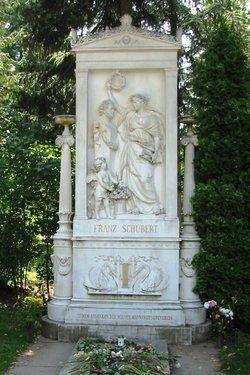 Franz Schubert 1797 1828 Famous Graves Cemetery Monuments German Art