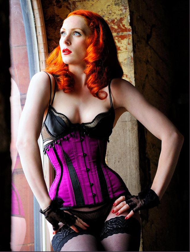 c1b9f23a010 Sophie Nova modelling an Orchid Corsetry 12 Panel Underbust ...